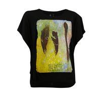 Watts - T-shirt Manches Courtes Femme Patta Noir