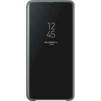 Samsung - Clear View Standing Cover Galaxy S9 Plus - Noir