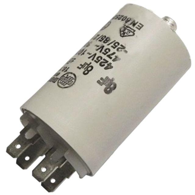 Vedette - Condensateur 8MF 450V - Sèche-linge - Brandt, De Dietrich, Fagor