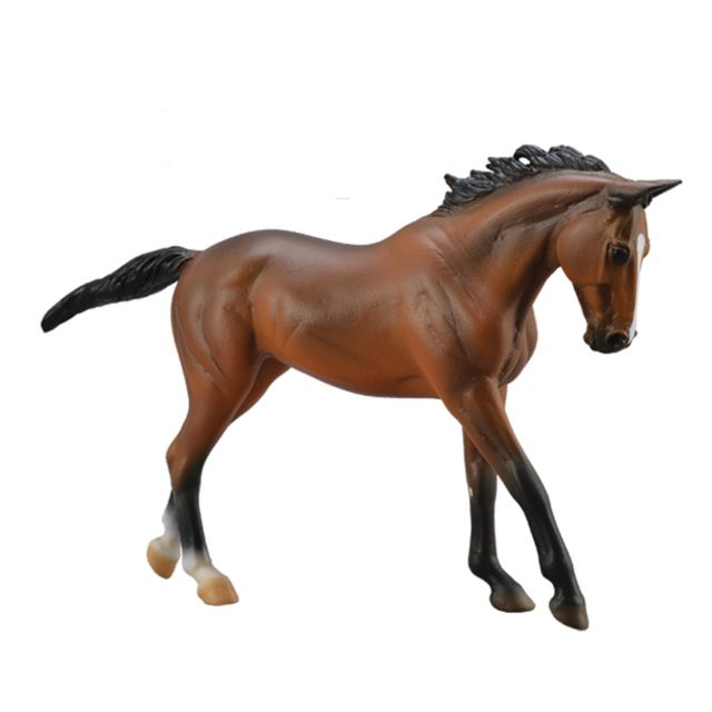 Figurines Collecta Figurine Cheval : Deluxe 1:12 : Jument Pur sang Bai