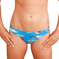 Mako - Bas de maillot de bain Sunkissed Hawaiian bleu femme