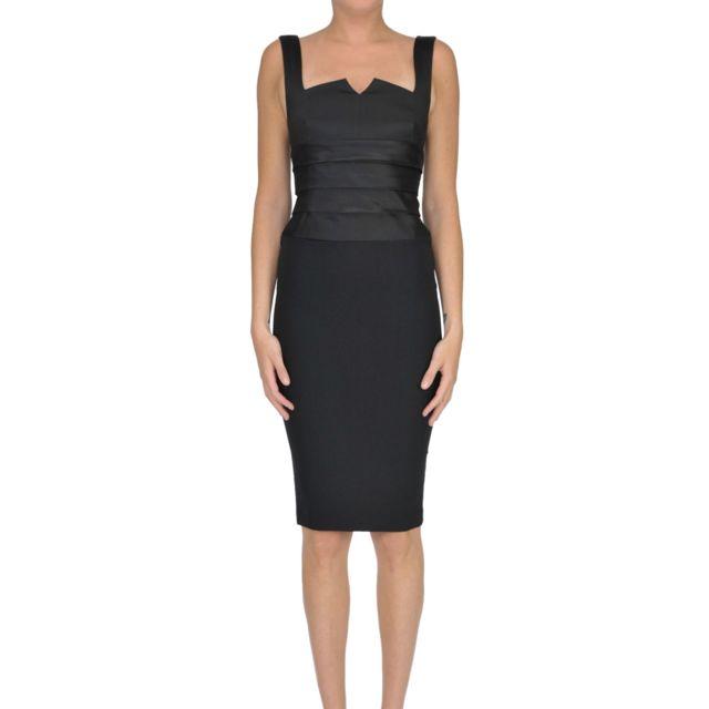 Babylon Femme Mcglvs0000006118I Noir AcÉTATE Robe