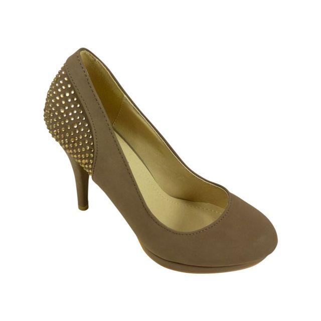 a5d061faed06 Escarpins Femme Talons A Chaussures Chaussmaro Plateforme Hauts 650qE6w