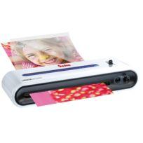 Geha - Plastifieuse Comfort - préchauffage 3 à 5 min - 250 microns - format A4 - blanc/noir