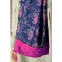 Baobab - Foulard Folyx Bleu Rose