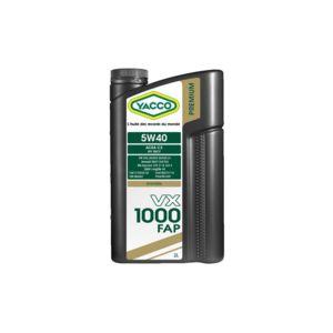 yacco huile moteur 5w40 vx 1000 fap bidon de 5 l achat vente huiles moteurs pas cher. Black Bedroom Furniture Sets. Home Design Ideas