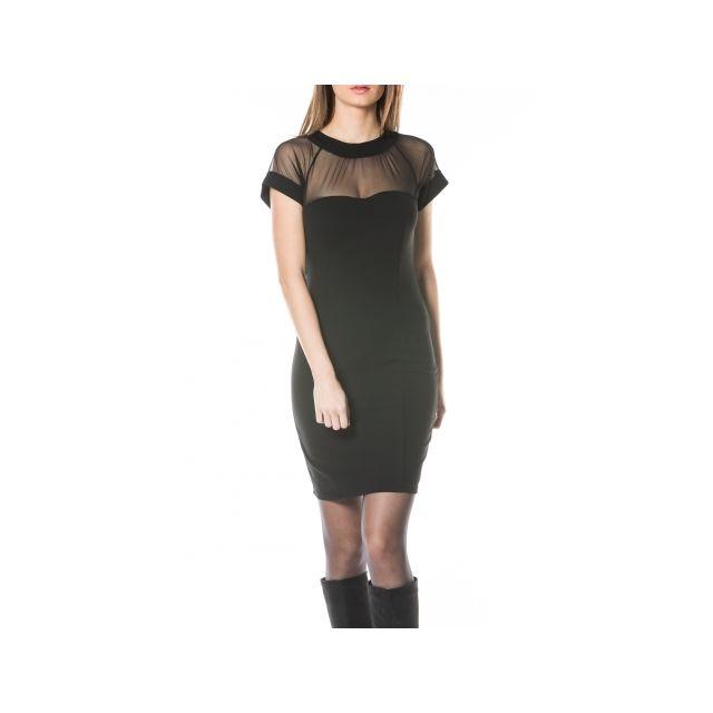 19e245261c5cf Princesse Boutique - Robe Noir décolleté en voile - pas cher Achat ...