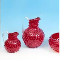 Cristallerie Markhbein - Broc à eau Rouge 0.5 L-broc Ananas par Markhbein