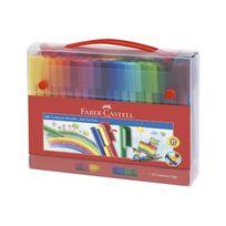 Faber-Castell - Coffret de 60 stylos feutres Connector Pen