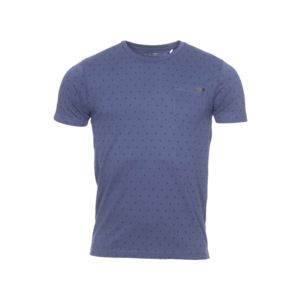 Fresh brand tee shirt col rond the en coton bleu marine for Fresh brand t shirts