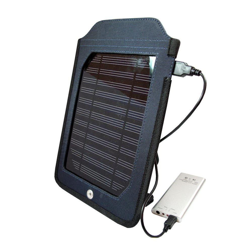 Power Plus - Chargeur solaire Cobra panneau solaire 1,75 W avec batterie de 1000 mah
