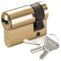 Vachette - Demi Cylindre V5 Barillet 30 x 10 pour serrure de porte