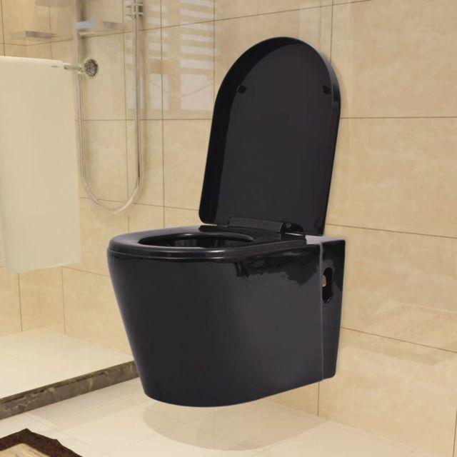 No Name - Toilettes Magnifique Toilette suspendue au mur avec ...