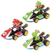 Pull and Speed - Mario - Coffret de 3 véhicules Mario Kart 8