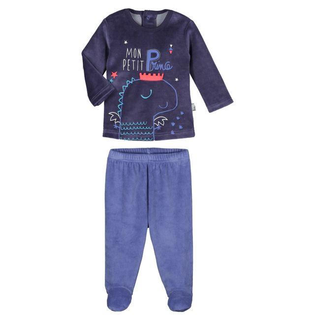 fd9305935bb4a Petit Beguin - Pyjama velours bébé garçon Petit Prince - Taille - 24 mois  92 cm Multicolore - pas cher Achat   Vente Ensembles - RueDuCommerce