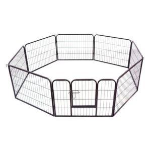 bonareva parc et enclos de luxe pour chien et chiot 8 panneaux de 60 x 80 cm pas cher achat. Black Bedroom Furniture Sets. Home Design Ideas
