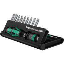 Wera Tools - Kraftform Kompakt 10, 10 pièces - 05056653001