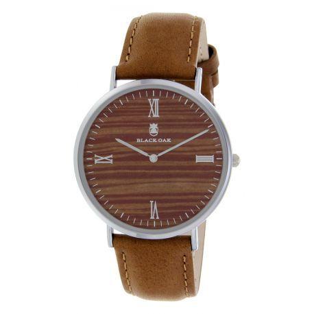 black oak montres marron pour femme bx92004 206 achat vente montre analogique pas ch re. Black Bedroom Furniture Sets. Home Design Ideas