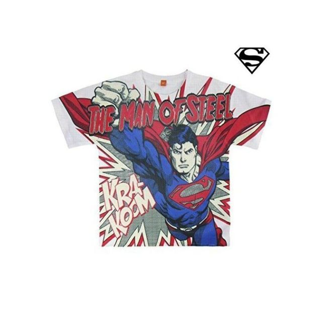 17f5fd85caa3d Superman - T shirt à manches courtes 8101 taille 5 ans - pas cher Achat / Vente  Chemises de nuit, nuisettes - RueDuCommerce