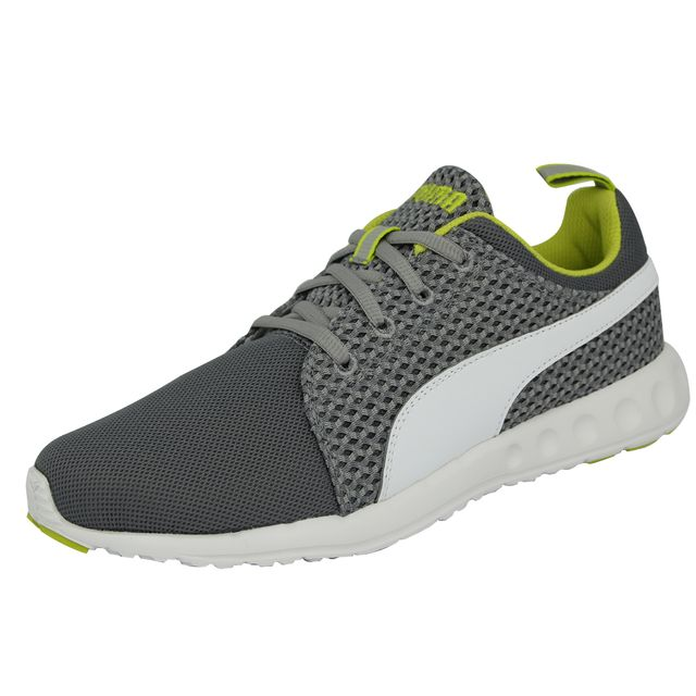 Cher Carson Runner Knit Gris Sneakers Pas Homme Puma Chaussures vfy6Ib7gY