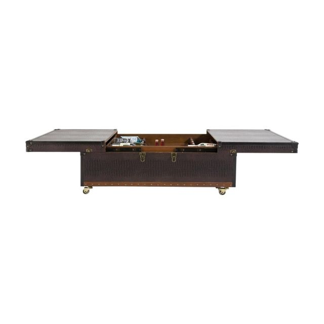 Karedesign Table Basse Bar Croco Colonial Kare Design