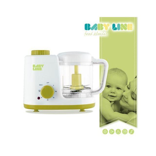 Totalcadeau Appareil à cuire à la vapeur et mixer les aliments pour bébé - Puériculture nourisson