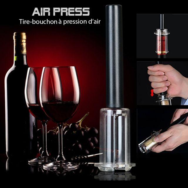 cuisy tire bouchon pression d 39 air airpress noir pas. Black Bedroom Furniture Sets. Home Design Ideas