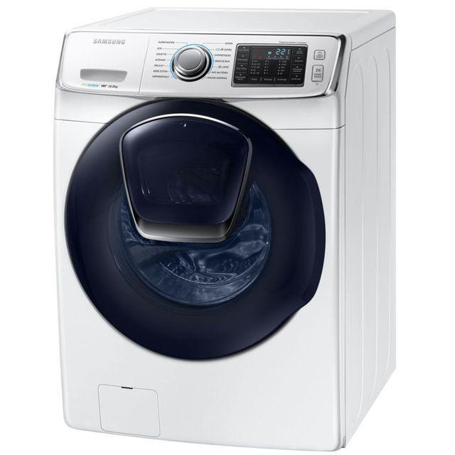 samsung lave linge frontal 70cm 16kg 1200t a blanc wf16j6500ew achat lave linge hublot. Black Bedroom Furniture Sets. Home Design Ideas