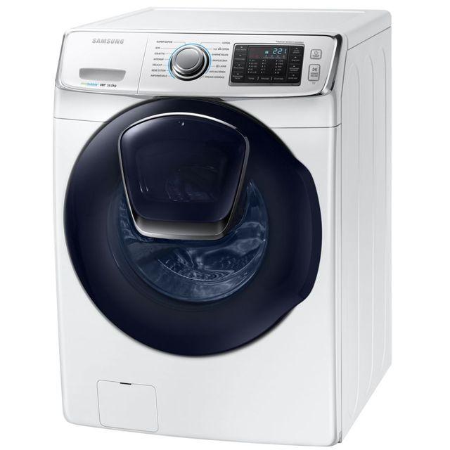 samsung lave linge frontal 70cm 16kg 1200t a blanc. Black Bedroom Furniture Sets. Home Design Ideas
