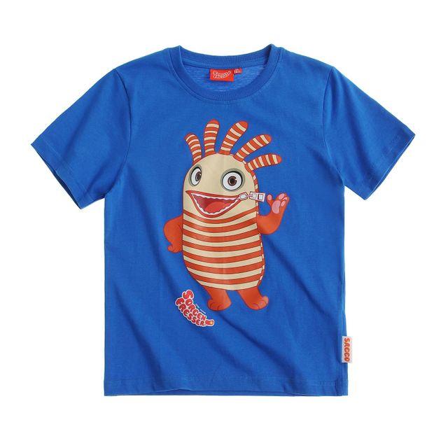a5038d4a1da17 Marque Generique - Sorgenfresser Garcon Tee-shirt Bleu - 4 ans - pas ...