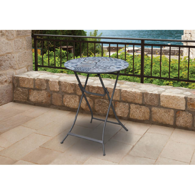 carrefour table mosa que balcon multicolore pas cher achat vente tables de jardin. Black Bedroom Furniture Sets. Home Design Ideas