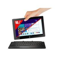 Tablette PC 2-en-1 10,1'' Dual Boot - Noir