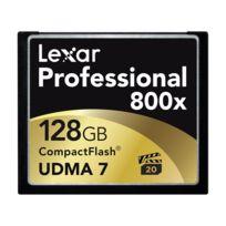 Lexar - Compact Flash 128 Go 120 Mo/s 800X