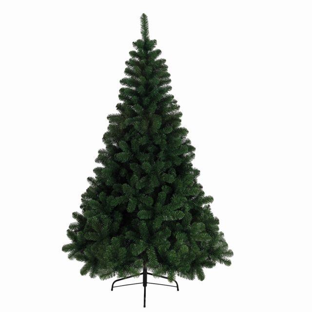 Dim Sapin de noël en rondins bois clair L.28 x l.10.5 x H.52cm