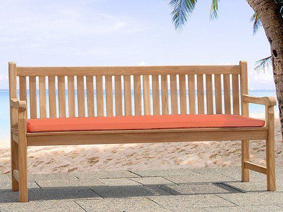 beliani coussin de jardin terracotta pour banc 160 cm cm pas cher achat vente. Black Bedroom Furniture Sets. Home Design Ideas
