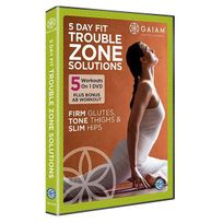 Vision - Gaiam : 5 day Fit Trouble Zone Solutions
