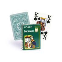 Modiano - Cartes 100% plastique 4 index vert