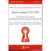 Atlande Editions - dossier espagnol édition 2017/2018