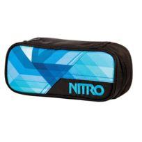 Nitro Snowboards - Trousse 20 X 8 X 6 Cm Bleu OcÉAN GÉOMÉTRIQUE 20 X 8 X 6 Cm