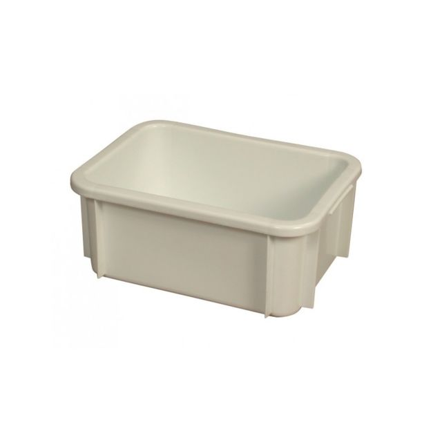 Gilac Bac Rectangulaire Empilable 12 Litres Blanc