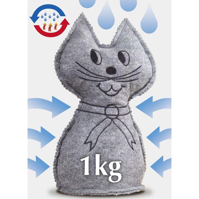 Wenko Sachet anti-humidité Chat - 1 kg