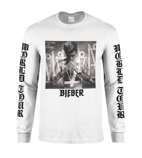 Magic custom - Purpose Tour - T-shirt Manches Longues - Purpose Blanc