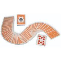 Bicycle - Jeu à dos Orange US Playing Card Company