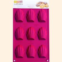 Scrapcooking - Multi Moule 9 Madeleines 9 madeleines