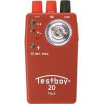 Testboy - Testeur de continuité Optique 0-20 ohm / Acoustique 0-250 ohm - 20 Plus