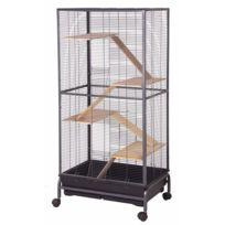 Les Animaux De La Fee - Cage Manhattan Furet-rat-chinchilla 138 Cm