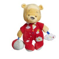 DISNEY BABY - Doudou d'activités Winnie l'Ourson