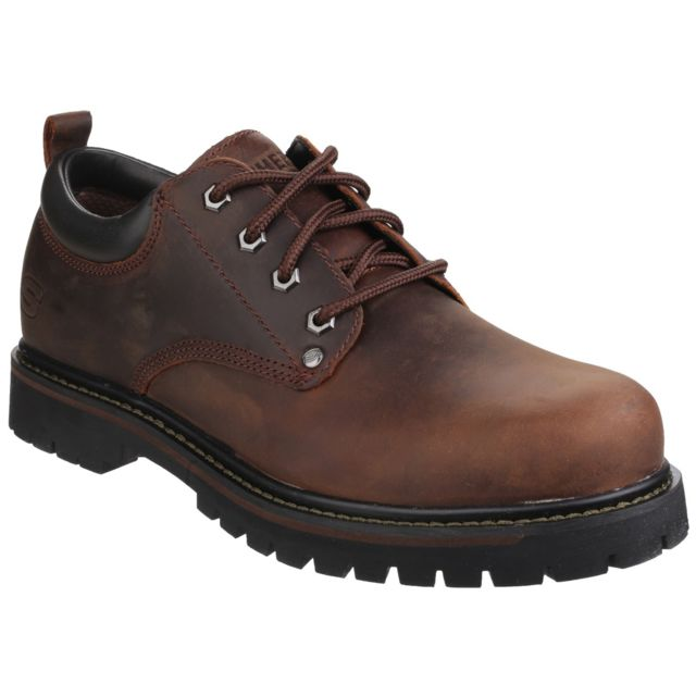 Skechers Chaussures à lacets Tom Cats - Homme 46 Fr, Marron Utfs3847