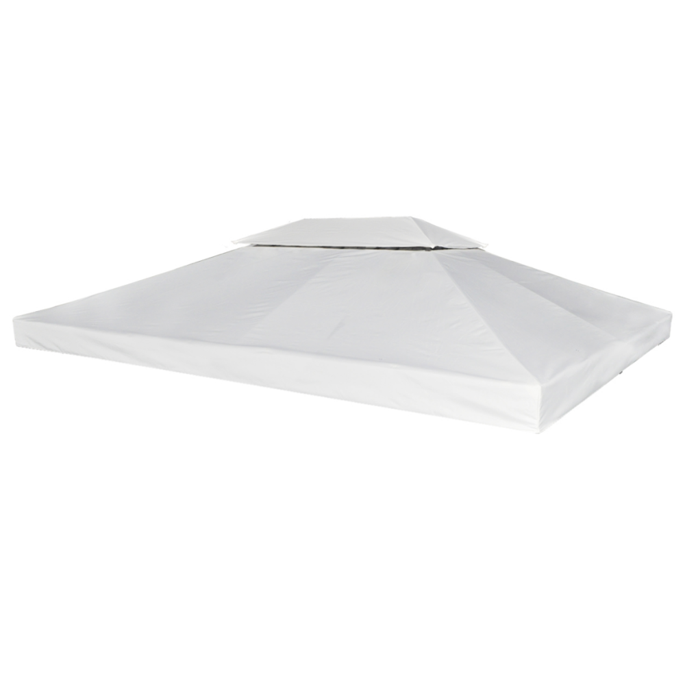 Vidaxl Toile de Rechange pour Gazebo Tonelle Pergola Blanc crème 270 g/m²