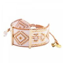 Mishky - Bracelet Perle neutral & Blanc & Jaune